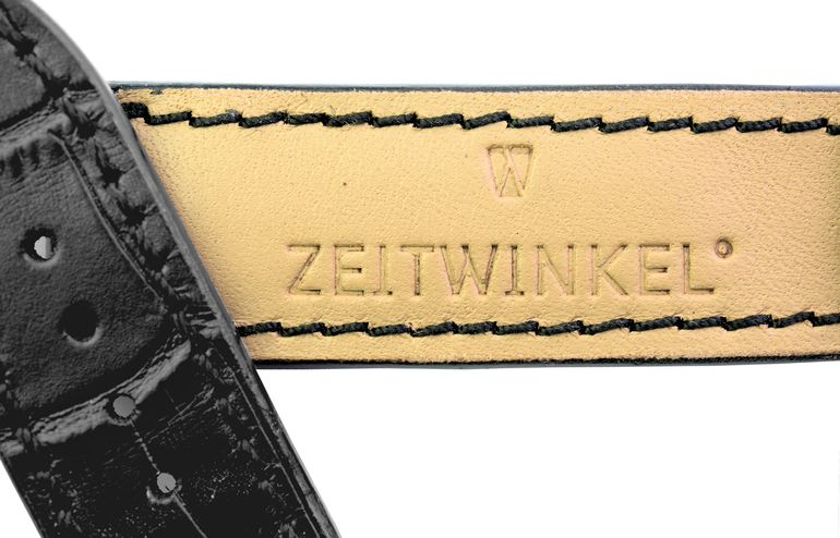 leather strap for Zeitwinkel watches